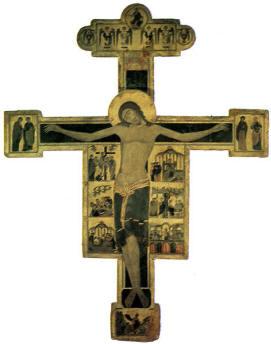 Croce dipinta su pergamena: Museo civico di Pisa