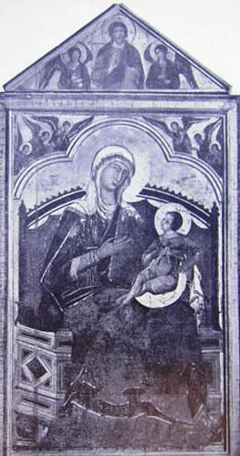 Guido da Siena: Madonna col Bambino