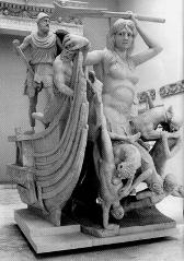 Gruppo di Scilla: Copia di età tiberiana