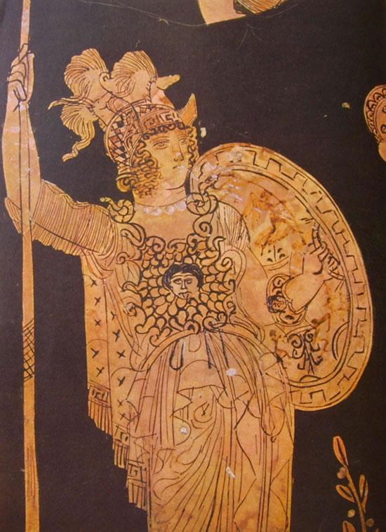 Pittore di Midia: Athena
