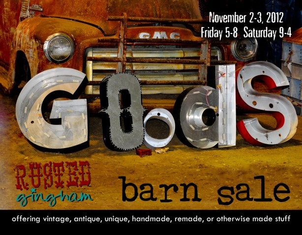 Francesca Watson Designs at the Rusted Gingham Barn Sale