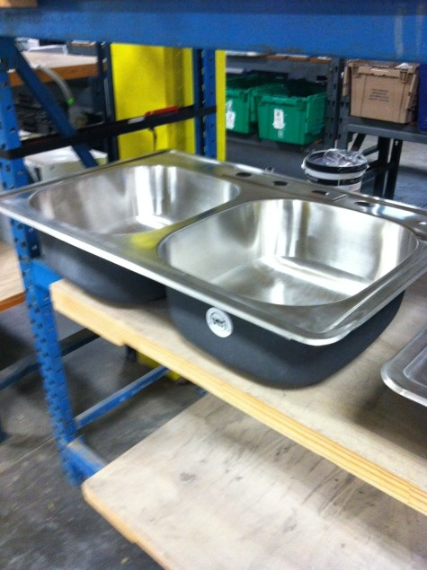 Stainless Steel Sink at ReStore San Antonio