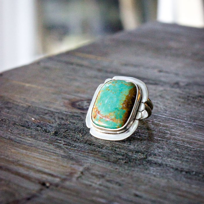 Turquoise Ring by Francesca Watson