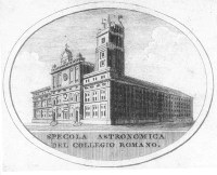 Collegio Romano in the 19th Century