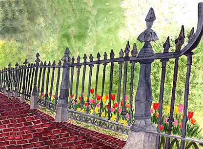 Boston Public Garden Fence