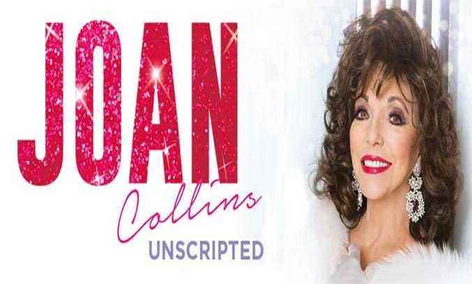 Joan Collins Unscripted UK Tour