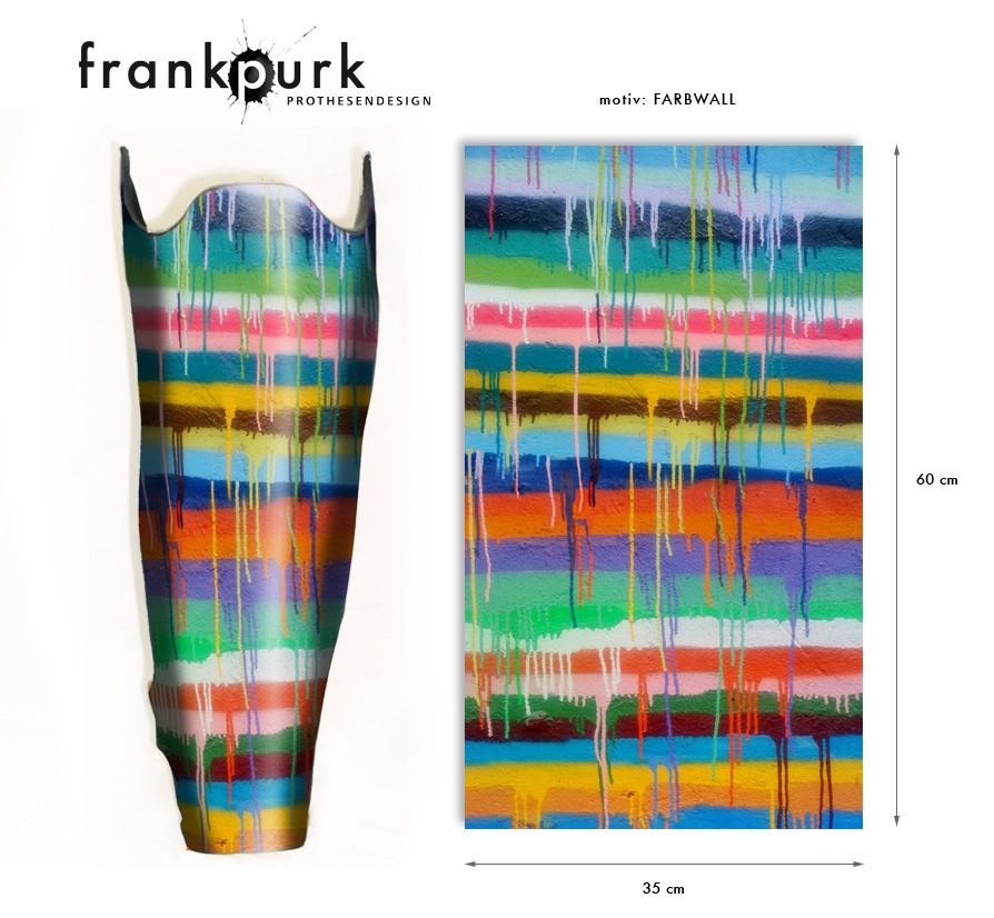 Dekostrumpf – Farbwand Design