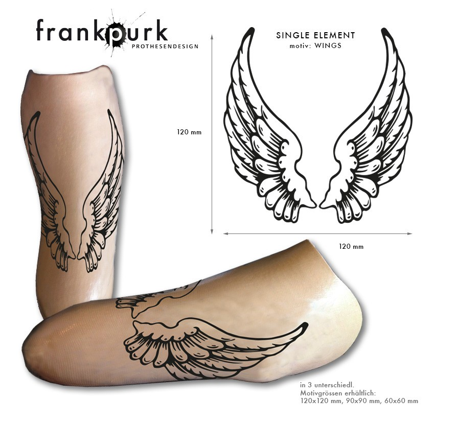 Tattoo Element – Wings