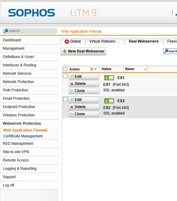 Sophos UTM als TMG Ersatz