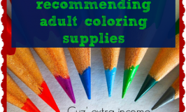 Earning extra income by recommending adult coloring supplies