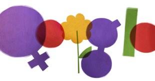 Google doodle Festa della Donna 2012