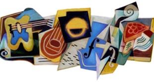Google doodle - Juan Gris