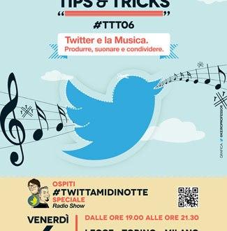 #TTT06 Twitter e la Musica
