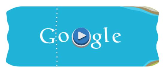 Google doodle Londra 2012 - Canoa