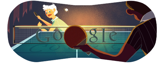 Google doodle - Londra 2012 Tennis Tavolo