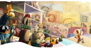 Buone Feste 2012 doodle Google