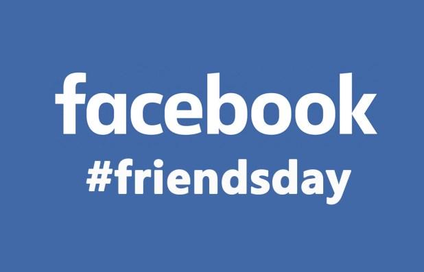 #friendsday facebook 2016
