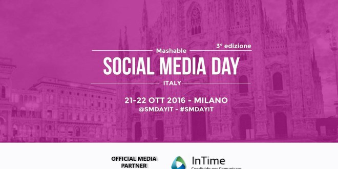 InTime è media partner del Mashable Social Media Day Italy