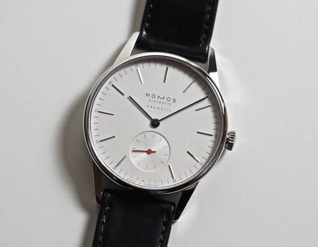 The Nomos Neomatik Orion
