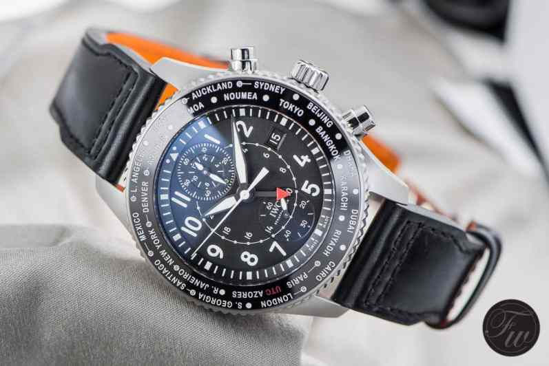 IWC Pilot's Watch Timezoner 3950-9106