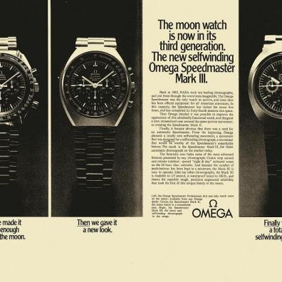 Speedmaster Mark III advertisement - OmegaMuseum.com