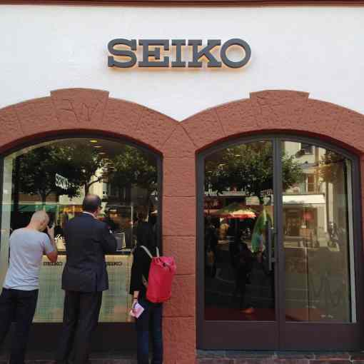 Seiko's new Frankfurt Boutique