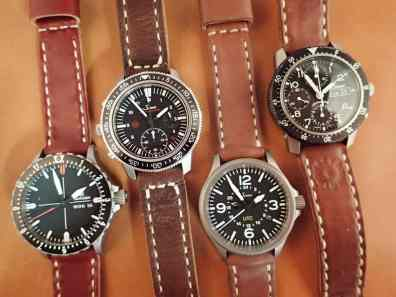 Sinns and a Damasko on ROver Haven straps