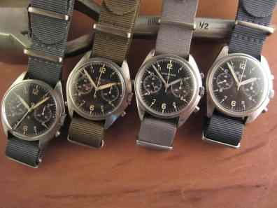 Myron Erickson, owner of Rover Haven, has a real love for military watches