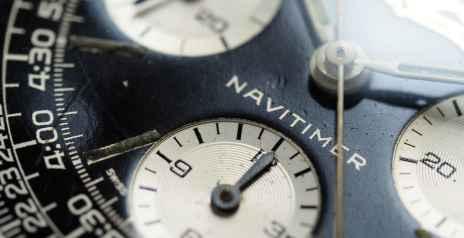 Breitling Navitimer 806 sub register macro