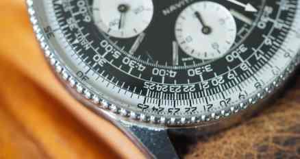 Breitling Navitimer 806 beaded bezel