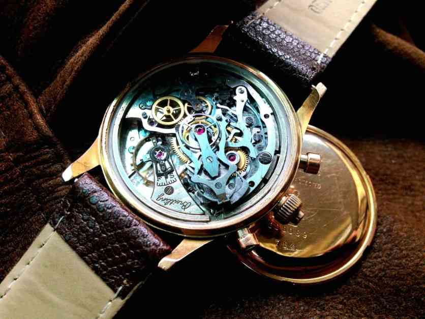 Rattrapante Duograph ref.762 Movement