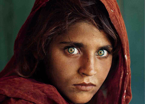 The Afghan Girl, Bild: Steve McCurry, Quelle: nationalgeographic.com