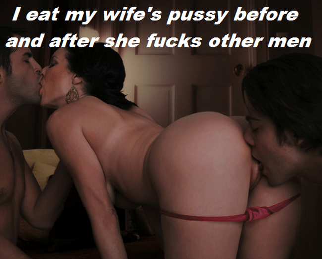 wife cum filled pussy captions
