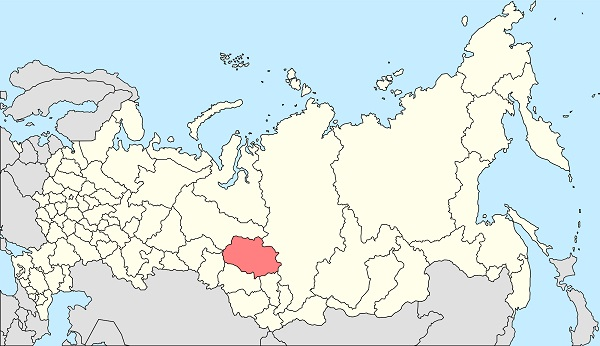 Map of Russia