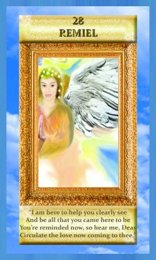 Voic eof the Angels Spiritual Cards - Remiel