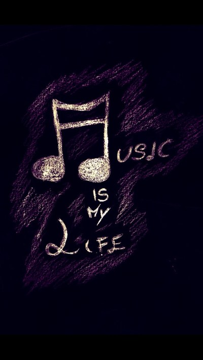 Music Is My Love Wallpaper - Free iPhone Wallpapers