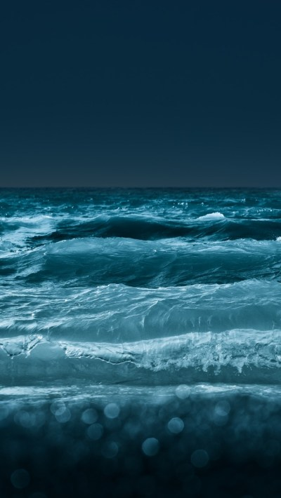Rolling Sea Water Wallpaper - Free iPhone Wallpapers