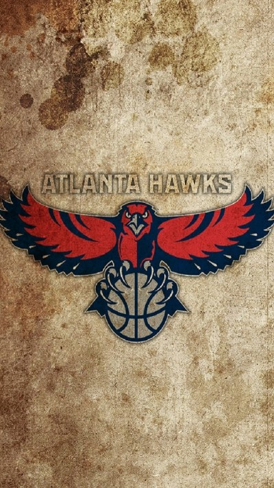 Vintage Atlanta Hawks Logo iPhone 6 / 6 Plus and iPhone 5/4 Wallpapers
