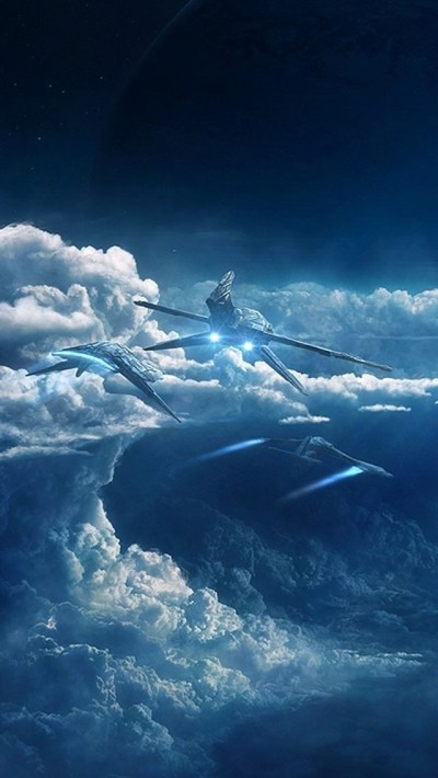 Sci-Fi World iPhone 6 / 6 Plus and iPhone 5/4 Wallpapers