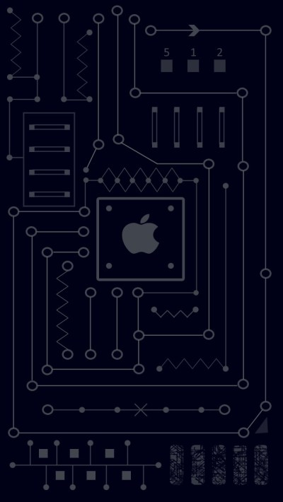 Apple Logo Crip Inside Wallpaper - Free iPhone Wallpapers