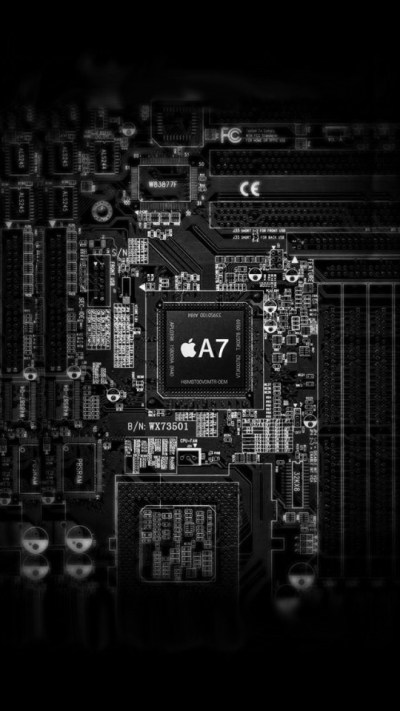Apple A7 Inside Wallpaper - Free iPhone Wallpapers