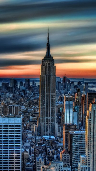 New York City Daybreak Wallpaper - Free iPhone Wallpapers