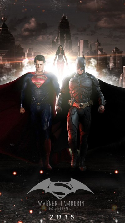 Batman v Superman Dawn of Justice 2016 iPhone 6 / 6 Plus and iPhone 5/4 Wallpapers