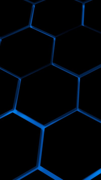 Hexagone 4K iPhone 6 / 6 Plus and iPhone 5/4 Wallpapers