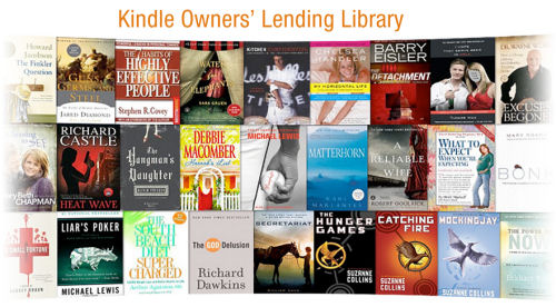 Free Kindle eBooks With Amazon Prime