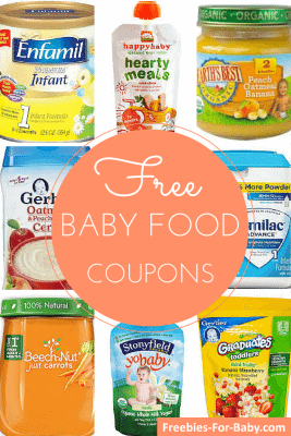 Baby Food Coupons and Baby Formula Coupons