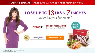 Nutrisystem Coupon Codes - Get 40% Off Turbo 13 (February 2018)