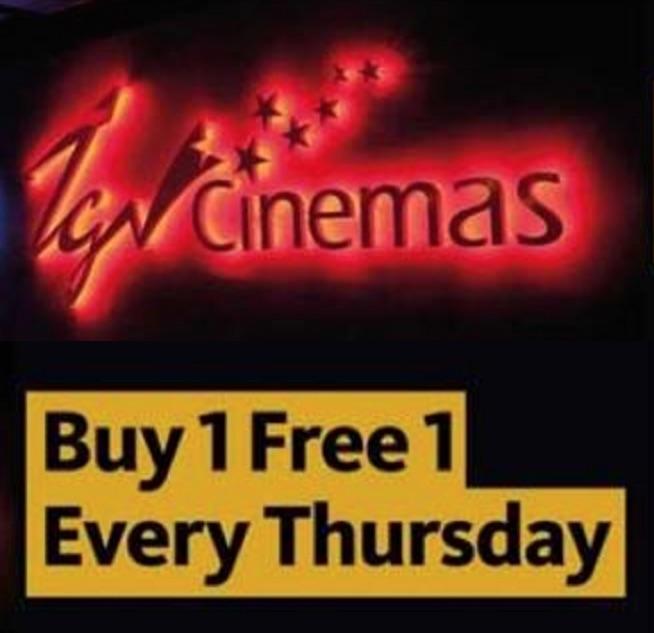TGV BUY 1 FREE 1 Movie Ticket Promotion