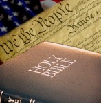 God's Word, the US Constitution, and the US Flag