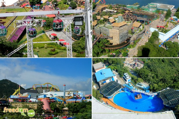 The 360° view of the Ocean Park